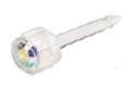 Belőhető és hordható fülbevaló  orvosi műanyag / szivárvány